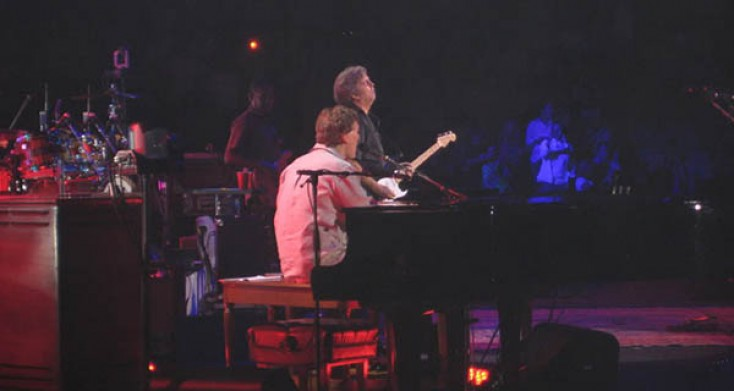 Eric Clapton and Steve Winwood Bring the Heat to the Pepsi Center