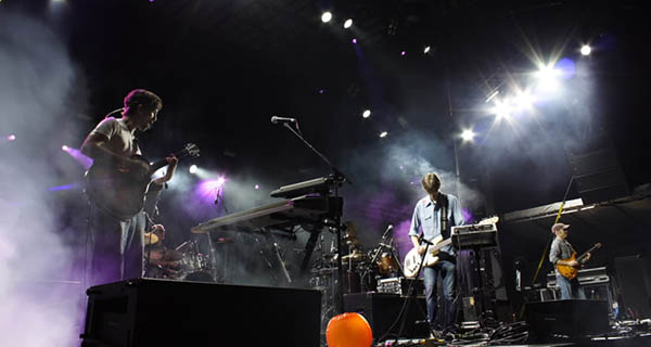Lotus rocking out during the Rothbury Music Festival Photo Mike Hardaker | Mountain Weekly News