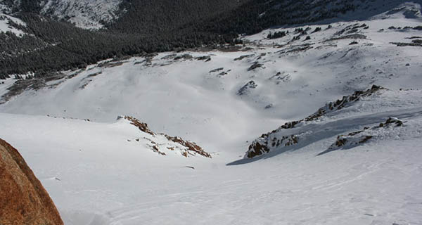 Not a bad view, Jones Pass Backcountry Photo Mike Hardaker | Mountain Weekly News