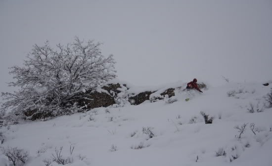 Patrick O'Toole riding the Louisville backcountry photo Mike Hardaker   Mountain Weekly News