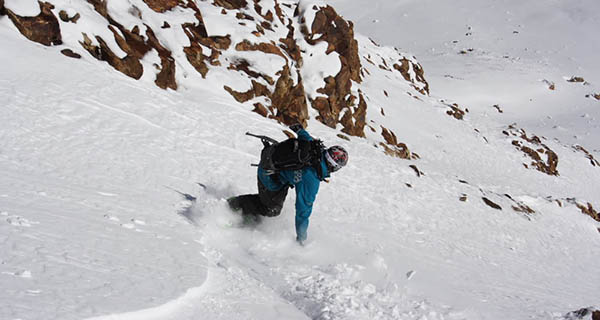 Mike Hardaker Snowboarding Jones Pass Colorado