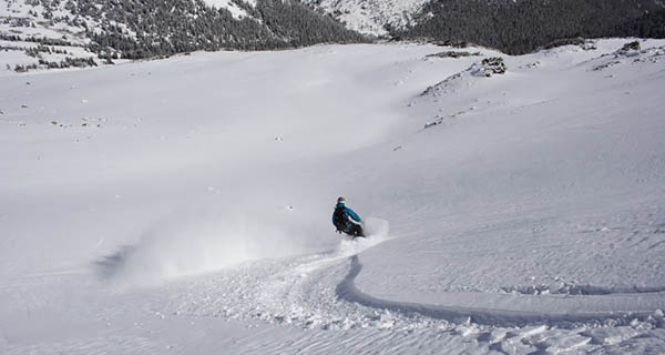 Mike Hardaker Likes to Ride Powder Photo Justin McCarty | Mountain Weekly News