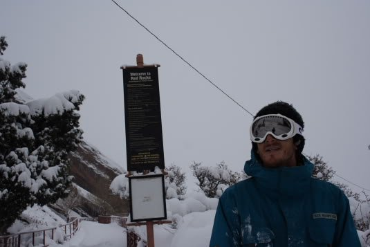 Mike Hardaker Snowboarding Red Rocks Photo Brendon Thompson | Mountain Weekly News