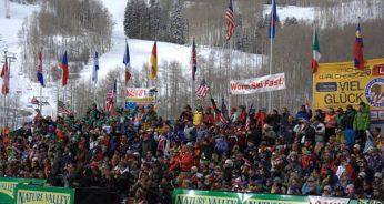 Worlds Best Skiers Take on the Legendary Birds of Prey Downhill
