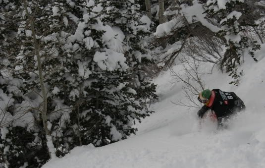Sebastion Jam North Face Masters Snowbird Photo Mike Hardaker | Mountain Weekly News