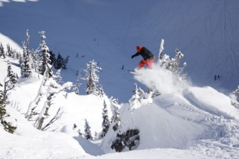 North Face Masters of Snowboarding Crystal Mountain Snowboard Photos