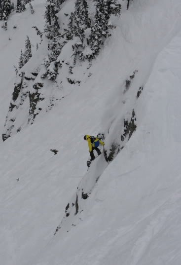 Lucas Debari The North Face Masters Crystal Mountain Photo Mike Hardaker  | Mountain Weekly News