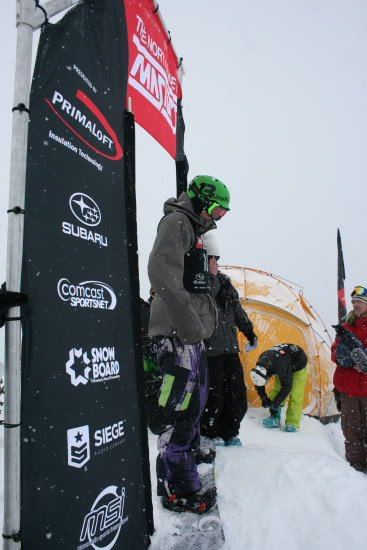 Andrew Irwin The North Face Masters Crystal Mountain Photo Mike Hardaker | Mountain Weekly News