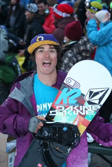 Aaron Robinson The North Face Masters Photo Mike Hardaker | Mountain Weekly News