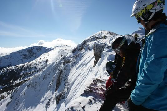 North Face Masters looking into the venue Photo Mike Hardaker | Mountain Weekly News