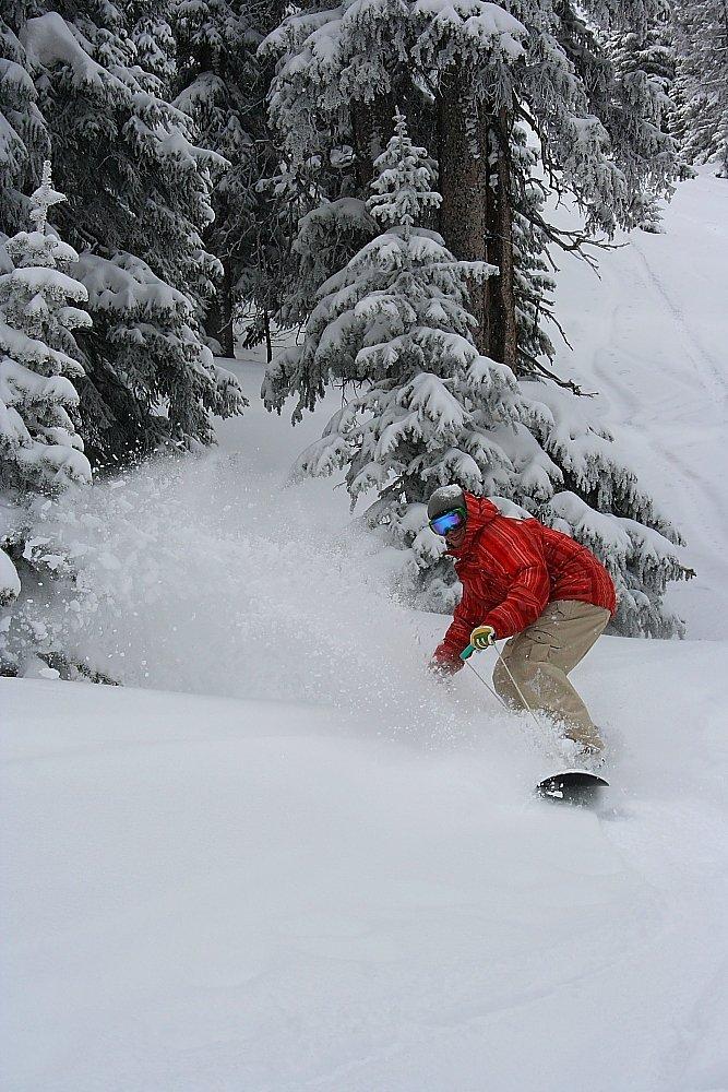 Ryan Cruze Noboarding Berthoud Pass Photo Mike Hardaker | Mountain Weekly News