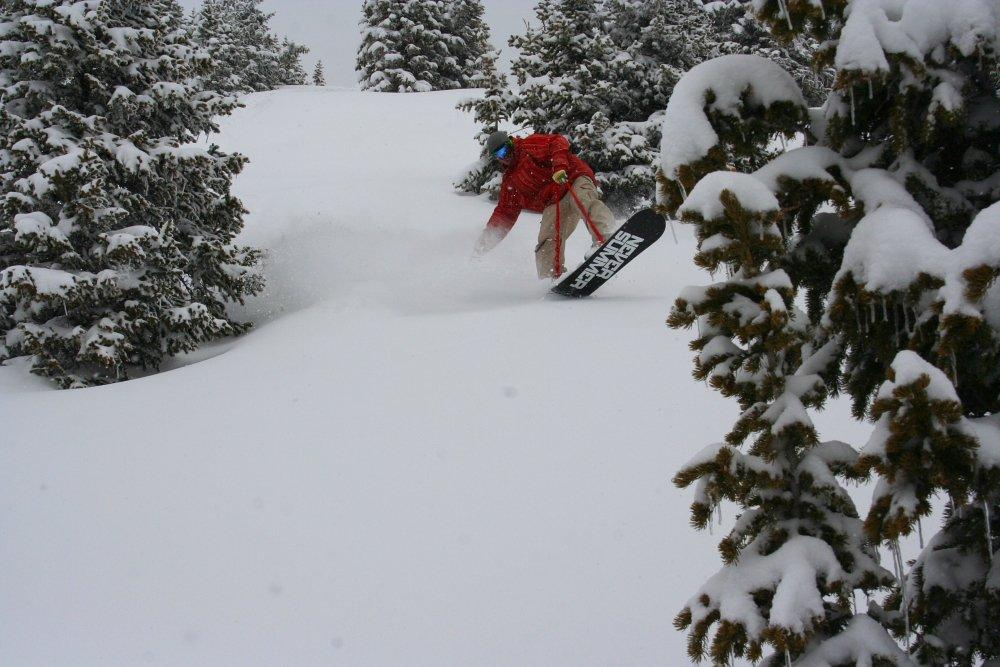 Noboarding Berthoud Pass Colorado
