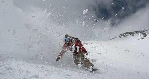 Ryan Cruze Qauandary Peak Colorado Snowboarding Photo Mike Hardaker | Mountain Weekly News