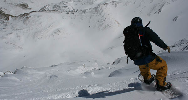 Mike Whitfield dropping into Torreys Peak Photo Mike Hardaker | Mountain Weekly News