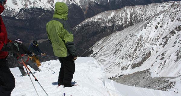 Cornice Cutting on Torreys Peak Photo Mike Hardaker   Mountain Weekly News