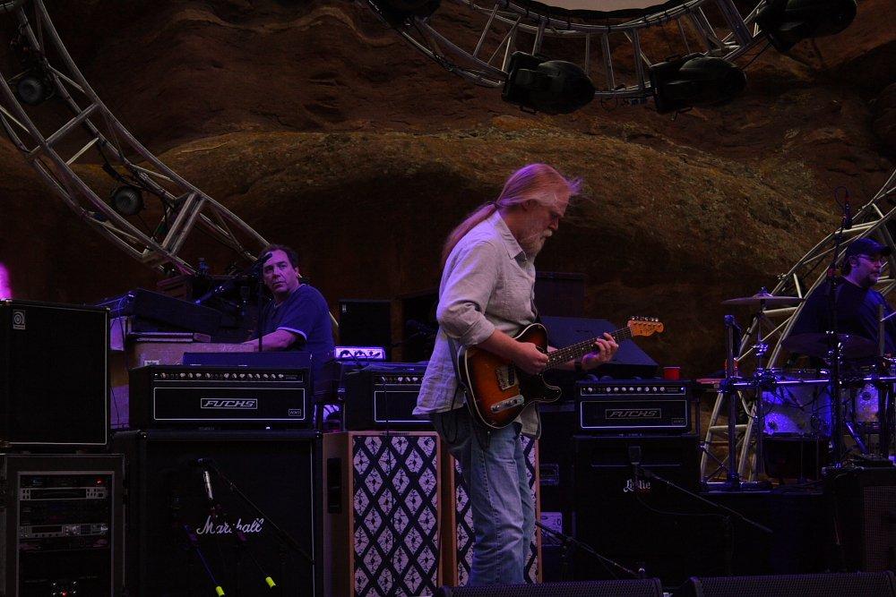 Widespread Panic Red Rocks - Jimmy Herring and JoJo Photo by Mike Hardaker | Mountain Weekly News