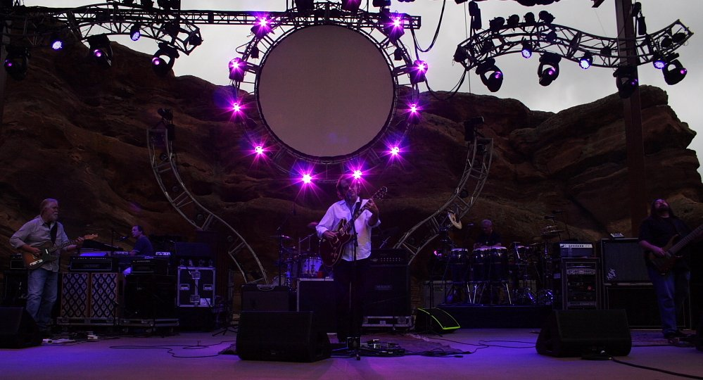 Jimmy Herring Finding a new home with Widespread Panic Red Rocks 2010 Photo Mike Hardaker / Mountain Weekly News