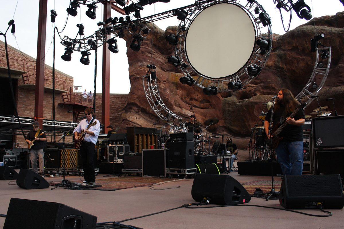 Widespread Panic Red Rocks Amphitheatre 2010