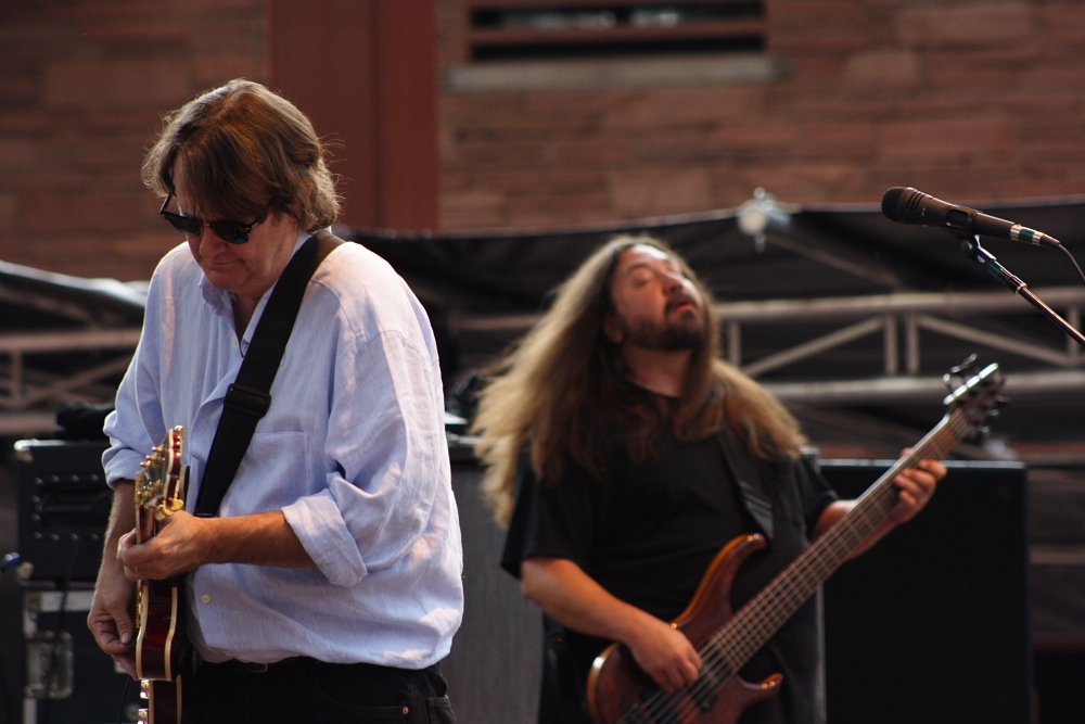 John Bell & Dave Schools Widespread Panic Red Rocks Photo by Mike Hardaker | Mountain Weekly News
