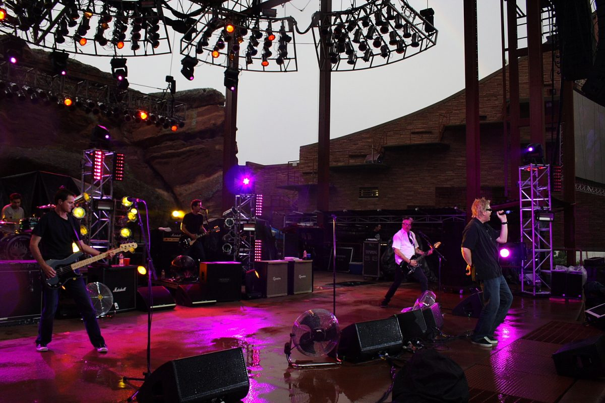 The Offspring Unity Tour 2010 Red Rocks Amphitheatre Photo Mike Hardaker
