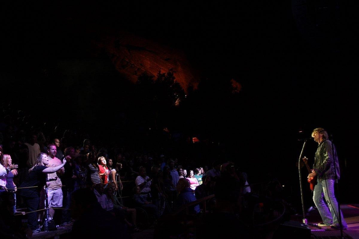Goo Goo Dolls Red Rocks Amphitheatre Conceter Photo Mike Hardaker