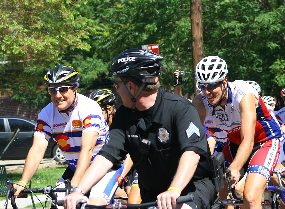 Colorado Gov Bill Ritter Cycling Quiznos Pro Challenge Announcement Denver Photos Mike Hardaker