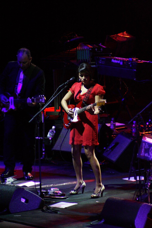 Norah Jones Red Rocks With Corrine Bailey Rae Mountain