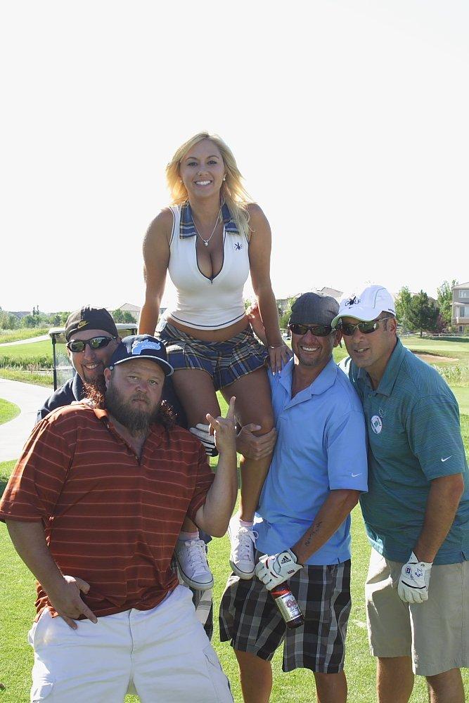 Playboy Golf Denver Amy Leigh Andrews Photo Mike Hardaker