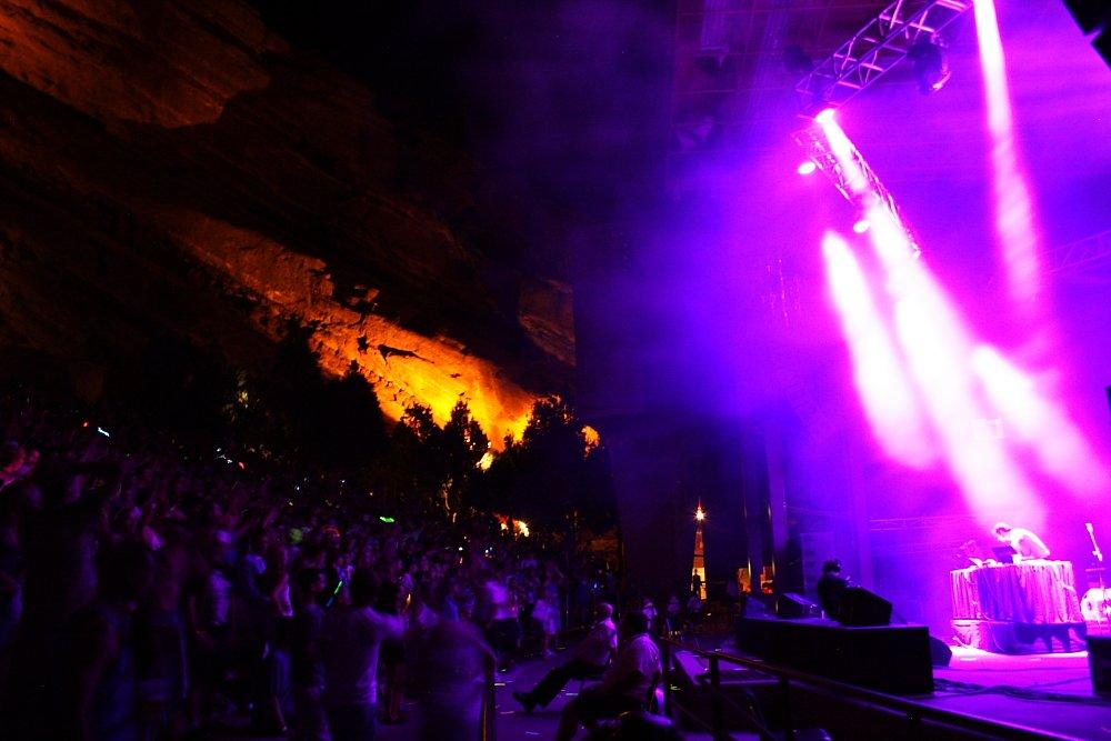 Pretty Lights Red Rocks Photo Mike Hardaker | Mountain Weekly News