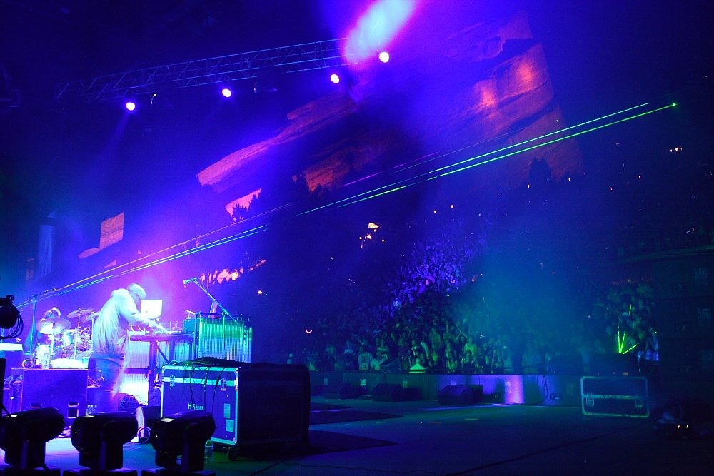 Pretty Lights Red Rocks Concert Photo Mike Hardaker https://www.mtnweekly.com