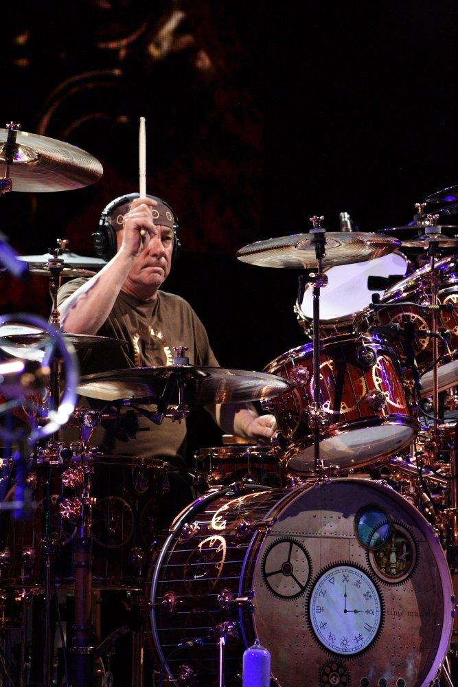 Rush Red Rocks Concert Photo by Mike Hardaker