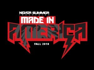 Never Summer Made in America Snowboard Video