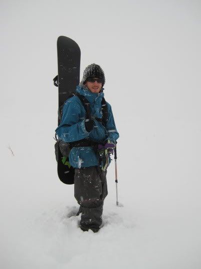 Mike Hardaker Product Testing Black Diamond AvaLung Backpack - Louisville, CO Backcountry Photo by Patrick O'toole