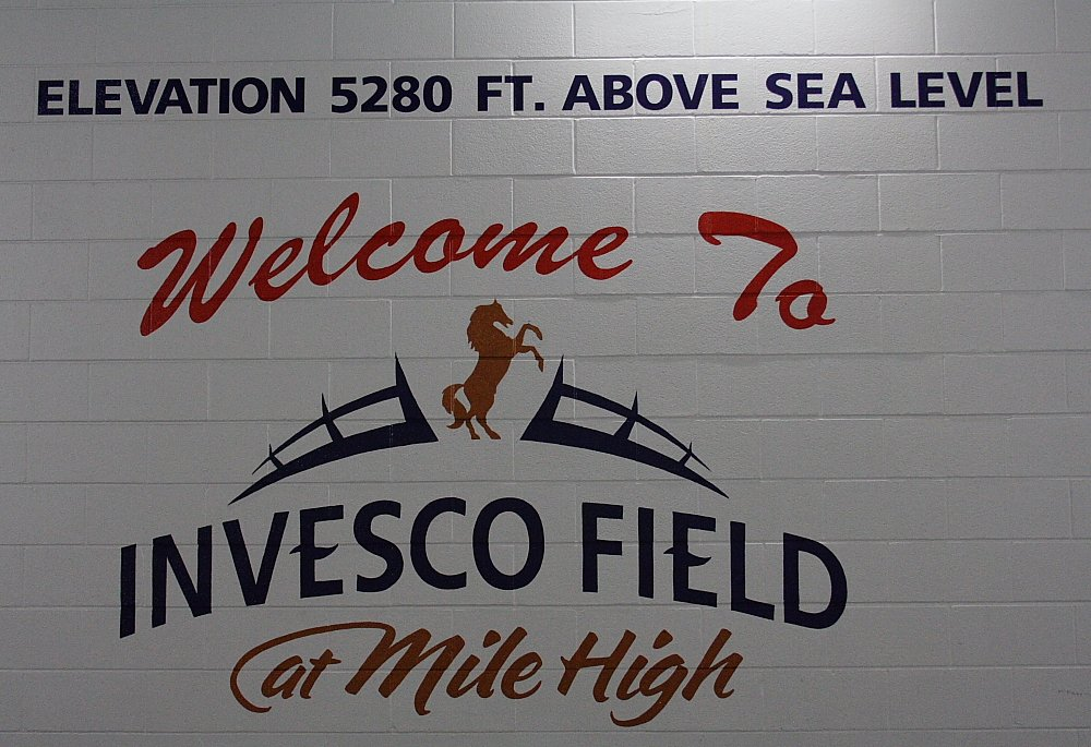INVESCO Field at Mile High Tour Photo Mike Hardaker