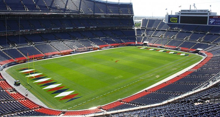 Denver Broncos Fans Can Tour the Stadium and even walk on the Field
