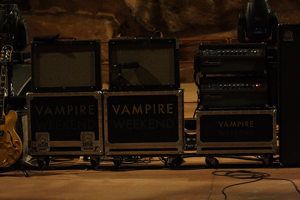 Vampire Weekend Red Rock Concert Photos