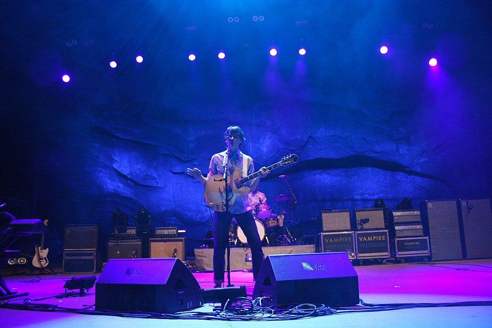 Vampire Weekend Red Rocks Concert Photo by Mike Hardaker