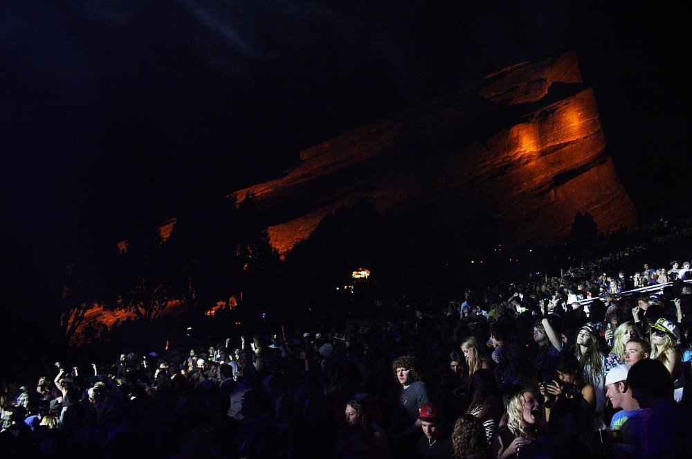 STS9 Red Rocks Concert Photo by Mike Hardaker