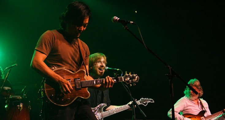 Fourmile Benefit Concert Features Members of Phish, SCI, Leftover