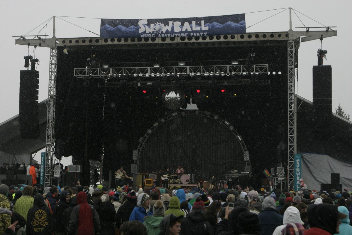 Snowball Festival Avon Colorado Photo: Soren McCarty