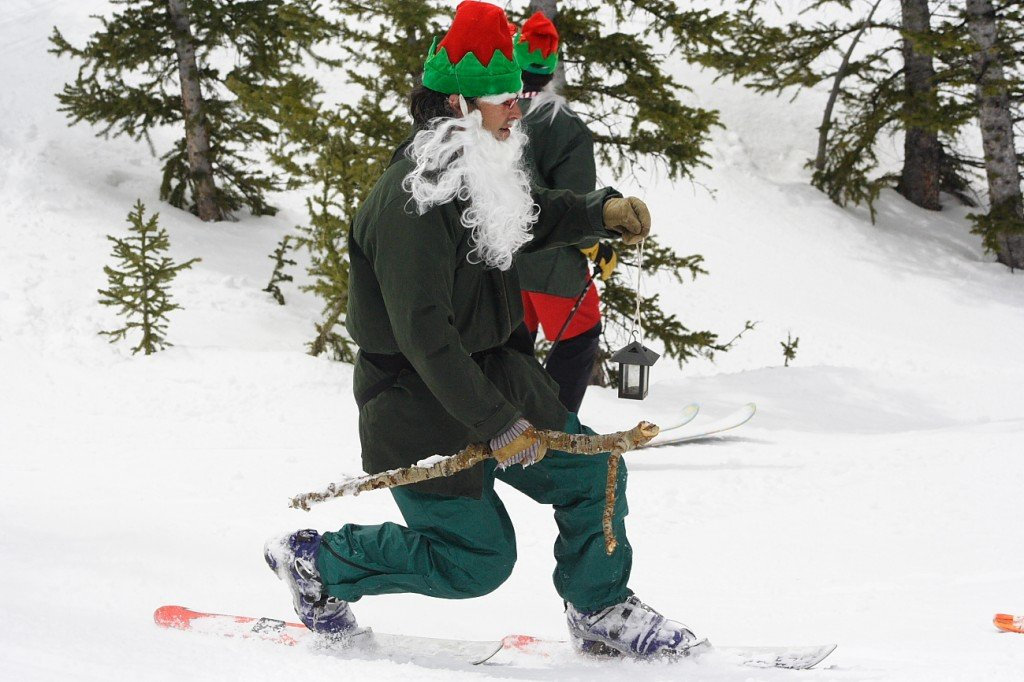 Crested Butte's Annual Al Johnson Uphill/Downhill Telemark Ski Race