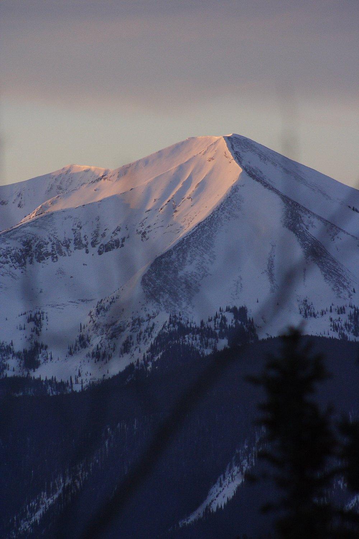 Sunrise Over Whetstone Mountain Photo by Mike Hardaker