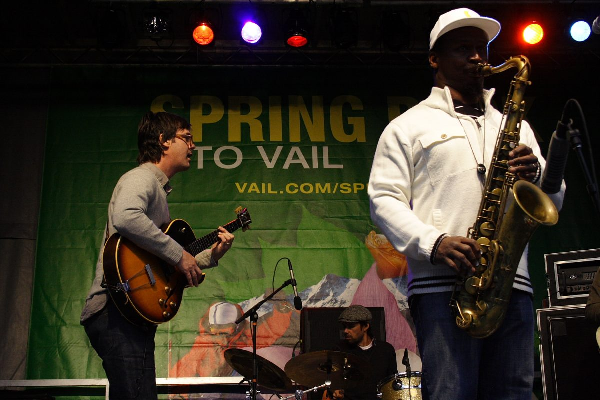 Greyboy Allstars Spring Back to Vail Concert Photo: Mike Hardaker | Mountain Weekly News