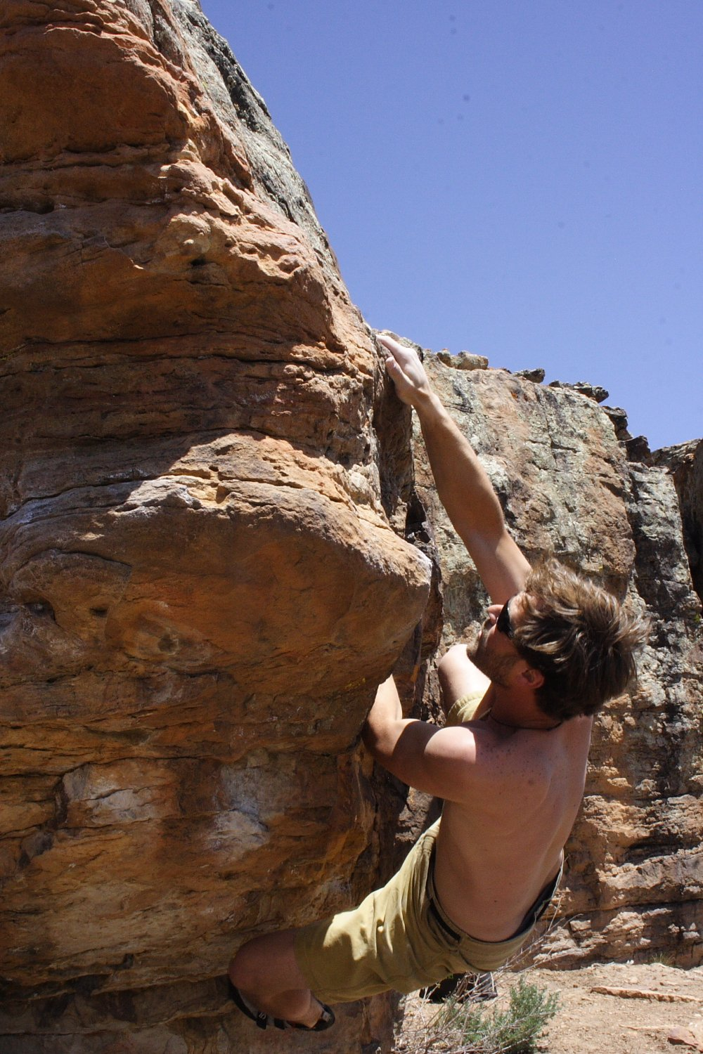 Bouldering Almont Colorado Photo Mike Hardaker | Mountain Weekly News Photo