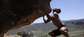 Bouldering in Almont Colorado