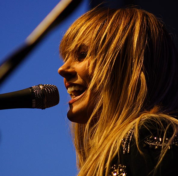 Grace Potter in Colorado Photo Mike Hardaker Mountain Weekly News