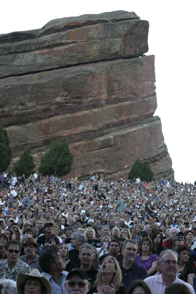 Moody Blues Red Rocks Concert Photos & Review