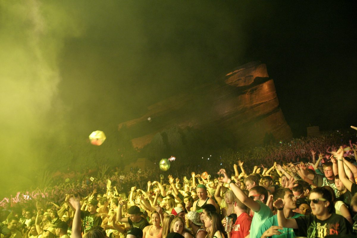 Bassnectar Red Rocks Concert Review 2011