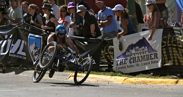 Crested Butte Chainless World Championships Bike Race Photo Mike Hardaker | Mountain Weekly News