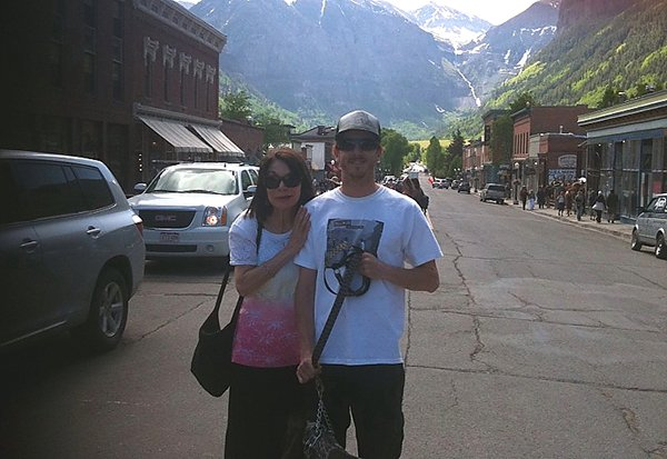 My mom, Char and I in Telluride